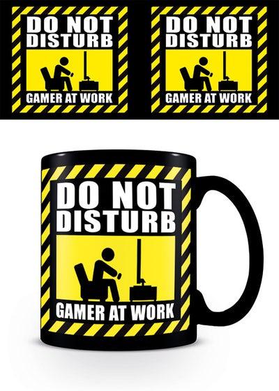 Gamer at Work  Black Mug 315 ml