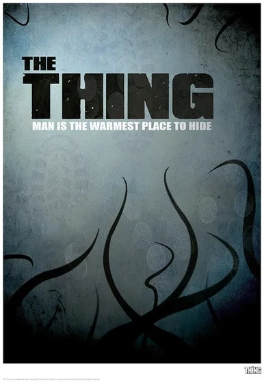 Silhouette, the Thing Limited Edition Art Print