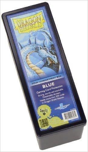 Blue Dragon Shield Four Compartment Deck Box