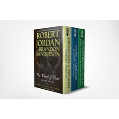 Wheel of Time Premium Boxed Set IV: Books 10-12 (Crossroads of Twilight, Knife of Dreams, the Gathering Storm)