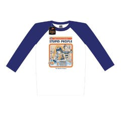 Let's Find a Cure for Stupid People Long Sleeve Shirt (XL)