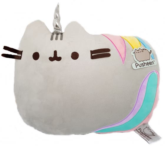 Unicorn Pusheen Cushion