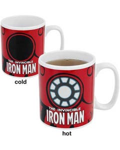 Invincible Iron Man Heat Change Mug