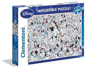 Impossible 101 Dalmatians Puzzle (1000)