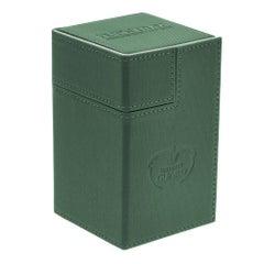 XenoSkin Flip 'n' Tray Green Deck Case (100+)