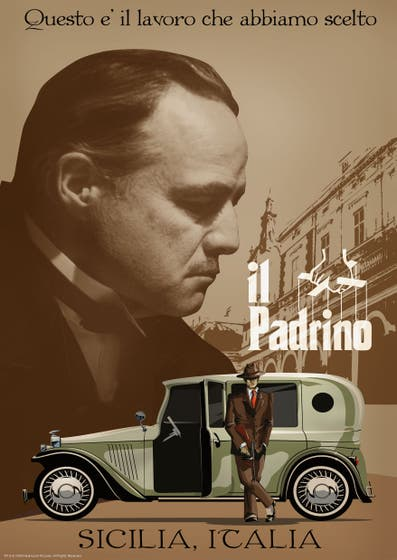 il Padrino Limited Edition art Print
