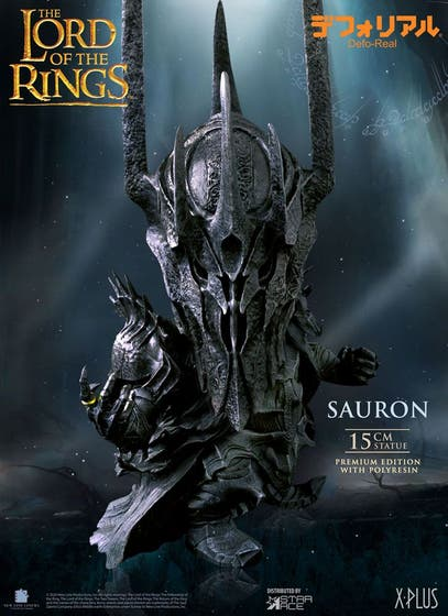 Lord of the Rings Df Sauron Defo Real Polyresin Statue