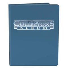 Ultra Pro Blue Collector's Card Album 4-Pocket Pages