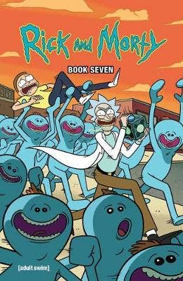 Rick and Morty Book Seven, 7: Deluxe Edition