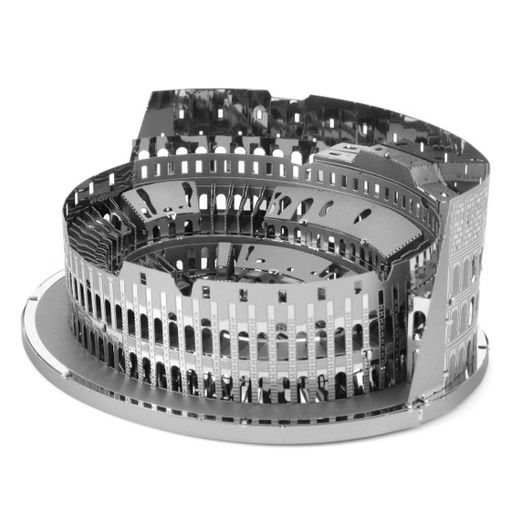 Roman Colloseum 3D Metal Model Kit