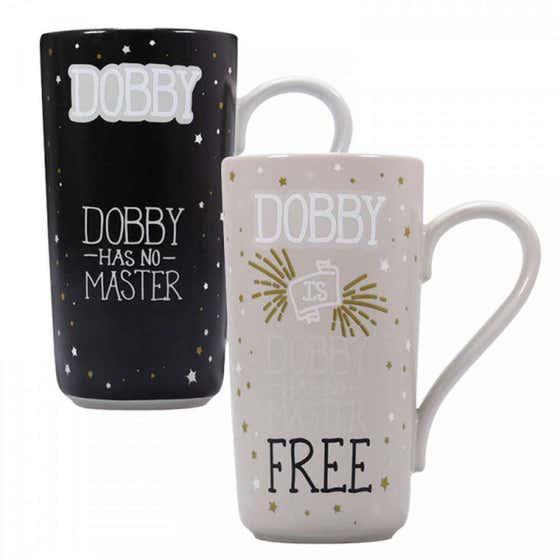 Dobby is Free Heat Change Mug