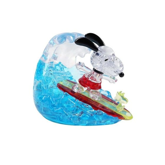 Snoopy Surfing 3D Crystal Puzzle
