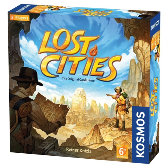 Lost Cities Card Game w/ 6th Expedition