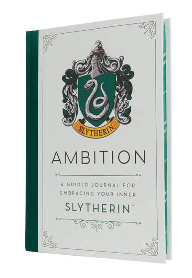 Harry Potter: Ambition: A Guided Journal for Embracing Your Inner Slytherin