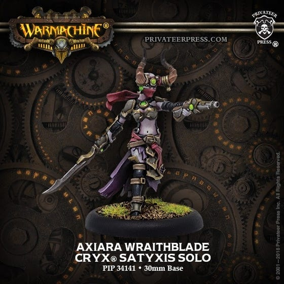 Axiara Wraithblde