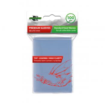 Premium Soft Sleeves 66x93 mm (100)