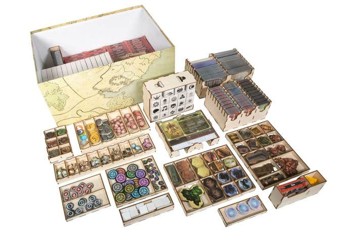 Gloomhaven With Expansion Insert