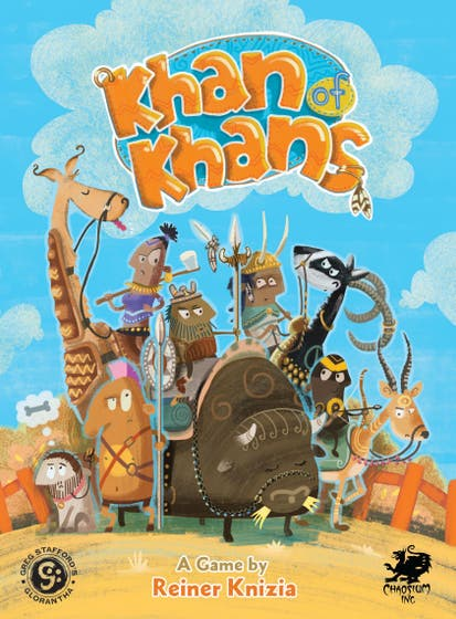 Khan of Khans: A Fast-Paced Card Game for the Entire Family