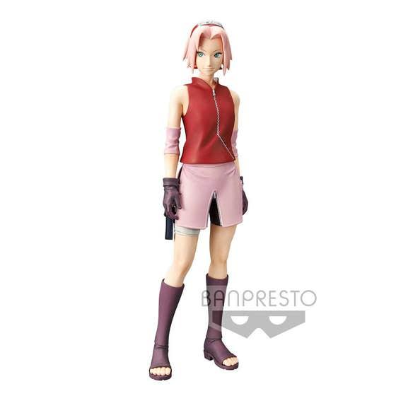 Haruno Sakura Grandista Shinobi PVC Staute 23 cm