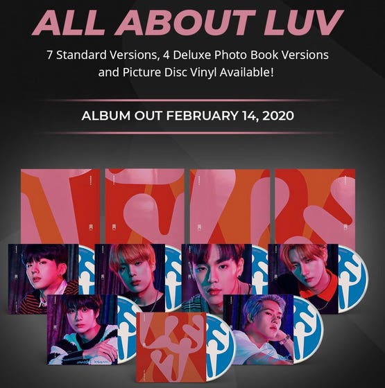 All About Luv Album