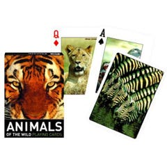 Animals of the Wild Playing Cards