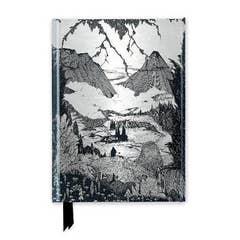 Harry Clarke: Mountainous Landscape (Foiled Journal)