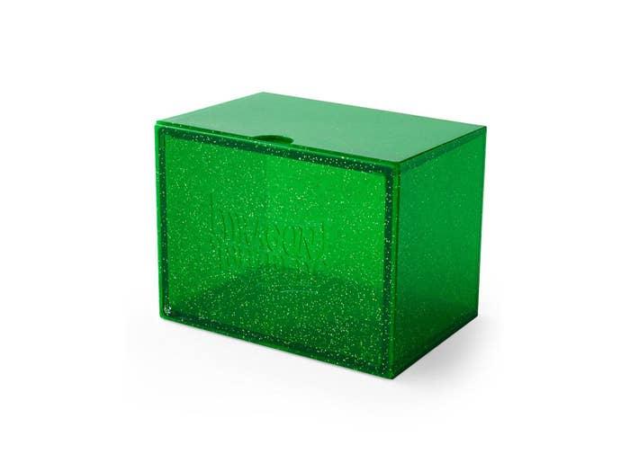 Emerald Dragon Shield Strongbox
