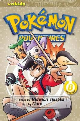 Pokemon Adventures (Gold and Silver), Vol. 8
