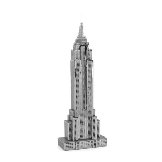 Empire State Building 3D Metal Model Kit