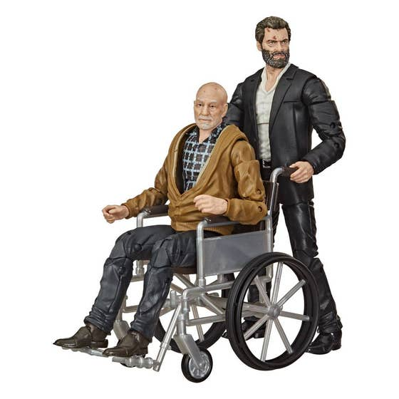 Logan & Charles Xavier Marvel Legends Action Figure 2-Pack