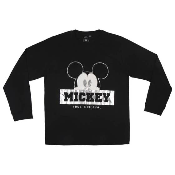 Mickey Mouse Holographic Long Pajamas (L)
