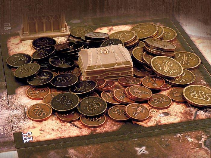 Sword & Sorcery Metal Coins