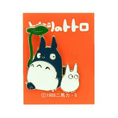 Big and Middle Totoro Pin Badge