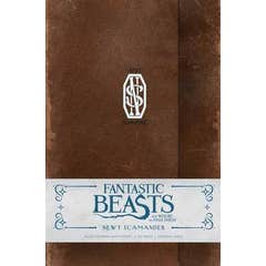 Fantastic Beasts and Where to Find Them: Newt Scamander Hardcover Ruled Journal