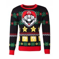 Super Mario Knitted Jumper (2XL)