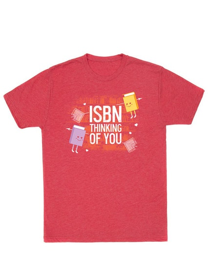 ISBN Thinking of You T-Shirt (S)