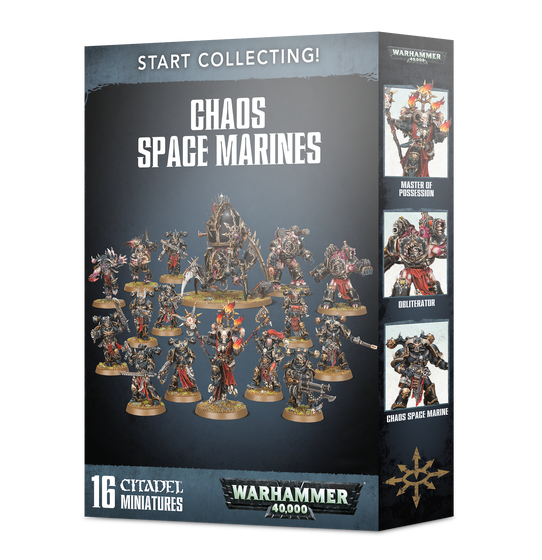 Start Collecting! Chaos Space Marines