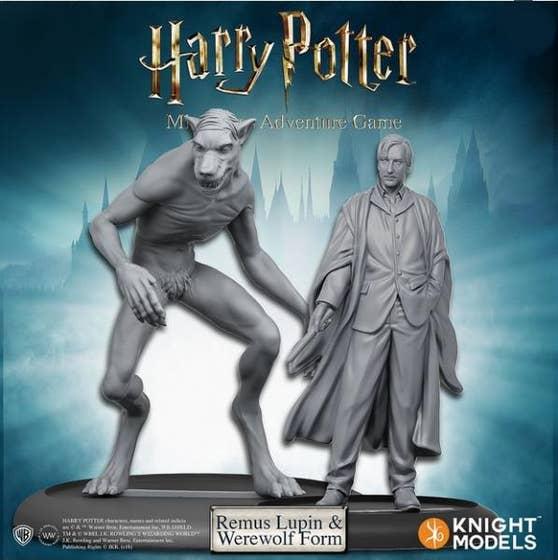 Remus Lupin & Werewolf Form