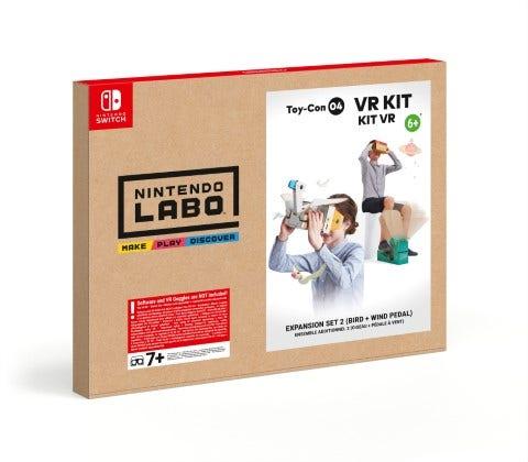 Nintendo Labo: VR Kit Expansion Set 2