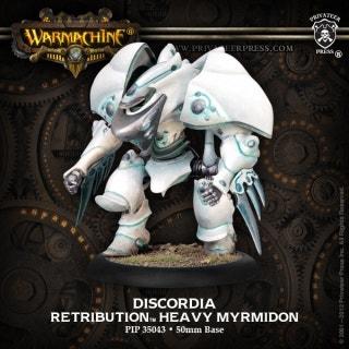 Discordia Character Warjack