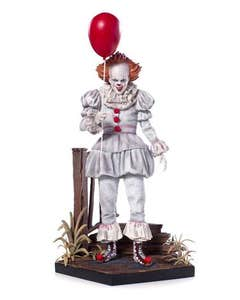Pennywise Deluxe Art Scale Statue 25 cm
