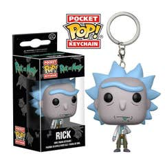 Rick Pocket POP! Keychain 4 cm