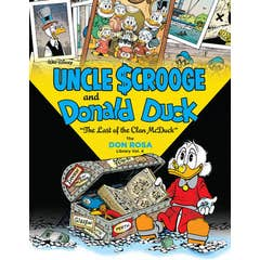 Walt Disney Uncle Scrooge and Donald Duck: The Last of the Clan McDuck: The Don Rosa Library Vol. 4