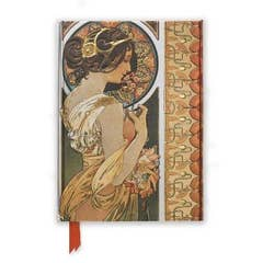Mucha: Cowslip and Documents Decoratifs (Foiled Journal)