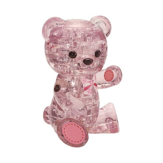 Bear Lily 3D Crystal Puzzle