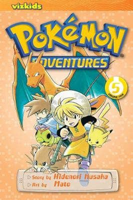Pokemon Adventures (Red and Blue), Vol. 5