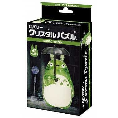 Totoro Green 3D Crystal Puzzle