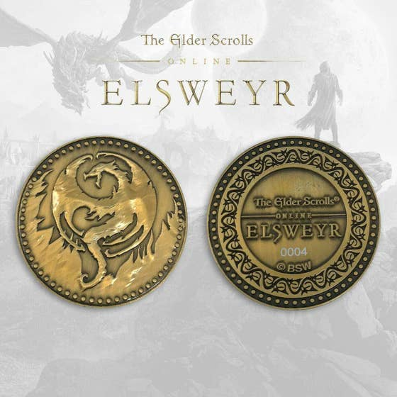 Elsweyr Limited Edition Collectible Coin