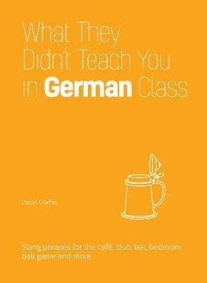 What They Didn't Teach You In German Class: Slang Phrases for the Cafe, Club, Bar, Bedroom, Ball Game and More
