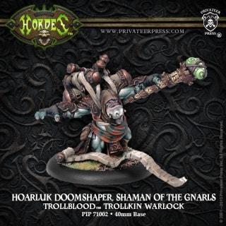 Hoarluk Doomshaper, Shaman of the Gnarls